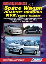 Mitsubishi Space Wagon/ Chariot Grandis/ RVR/ Space Runner 1997-2003 гг